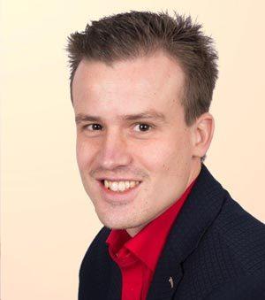 Boekhouder Arjan Dekker van administratiekantoor Hoogeveen