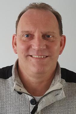 Boekhouder Sjaak Kliffen van administratiekantoor Woubrugge